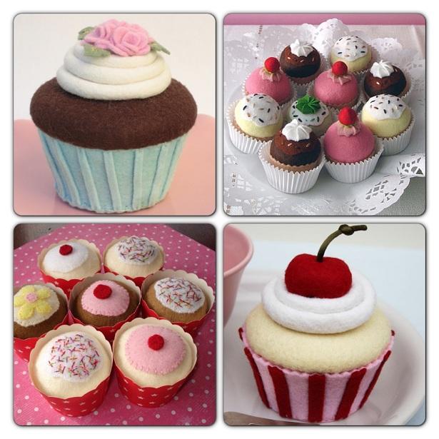 ''Keçe Cupcake''